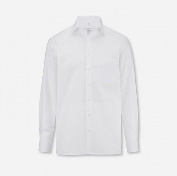 OLYMP Tendenz, modern fit, New Kent, Weiß