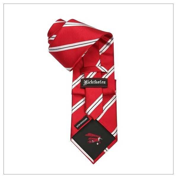 Limitierte Edition Richthofen_Krawatte_Der rote Baron