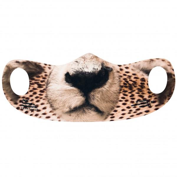 Bild Maske, Mund-Nasen-Bedeckung, Motiv GEPARD, Jäger, Jagd, SAFARI, KIDS-MASKE, Jagdsport, Schutzmaske, Corona-Maske, FACIE, Masken, Motiv-Maske, bedruckte Masken.